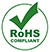 Product is compliant with the RoHS directive
