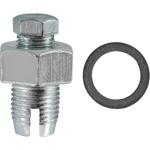 1/2-20 SINGLE OVERSIZE PIGGY-BACK DRAIN PLUG