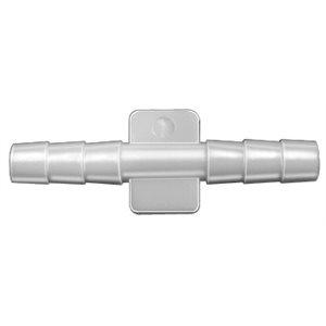 NYLON STRAIGHT CONNECTOR 1/8 X 1/8
