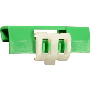 VOLVO WINDSHIELD CLIP- GREEN