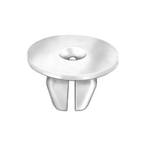 23.5mm Head Car Push In Button 20 x Grey Plastic Fir Tree Trim Clips 7mm Hole