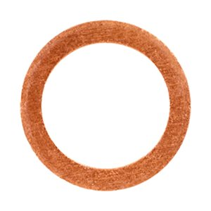 COPPER WASHER 7/16 I.D. 13/16 O.D. 1/16 THICK