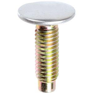 DISC- BUMPER BOLT STAINLESS CAP W/DOG PT. 3/8-16 X 1-1/4