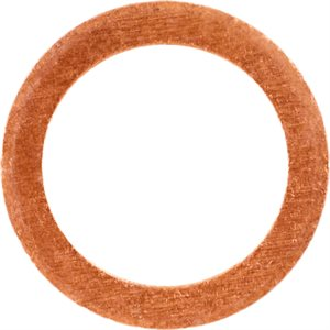 COPPER OIL DRAIN PLUG GASKET 14MM ID 20MM OD
