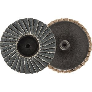 "2"" MINI ZIRCONIA FLAP DISC - 60 GRIT - TYPE 1"