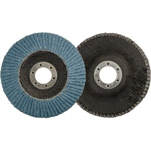 "FLAP DISC - TYPE 29 4.5"" X 7/8"" 40 GRIT"