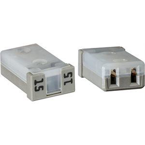 MCASE UNSLOTTED 15 AMP FUSE