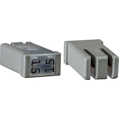 MCASE SLOTTED 15 AMP FUSE