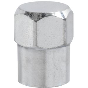 TIRE VALVE OCTAGON - CHROME