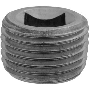 "1/2""Square CounterSunk Pipe Plug"