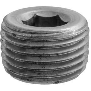 "9/16""Hex CounterSunk Pipe Plug"