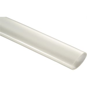 "CLEAR HEAT SHRINK TUBING - 1"" ID"