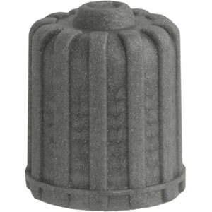 GREY PLASTIC VALVE CAP W/SEAL FOR TPMS