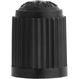 BLACK STANDARD PLASTIC VALVE CAP