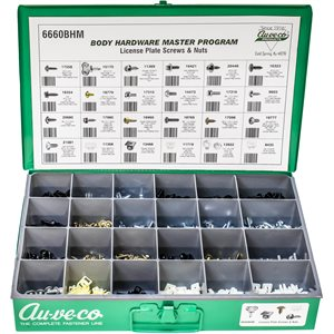 BHM LICENSE PLATE SCREWS & NUTS ASSORTMENT