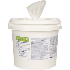 ATHLETIX DISINFECTANT WIPES BUCKET - 900 WIPE