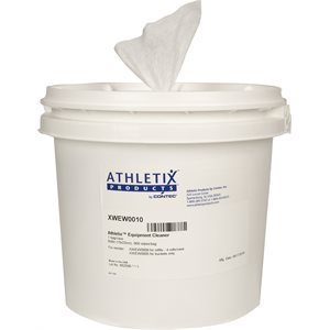ATHLETIX CLEANER WIPES BUCKET - 900 WIPES